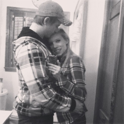 countrygirlxx7:  This boy right here is my whole world. He showed up right when I needed him most and when I was least expecting it. I fell in love the very moment I saw him. He's everything I've ever wanted and then some. He understands me like no one else and is always there for me. No matter what time of day. I keep him up late at night and we talk about anything and everything. We have plans for the future and I know they're going to happen, and they're so close. He's the one for me, I know it. He's my strong and steady. I love you Cody. Thank you for always putty g up with me<3 @cody13x 7.22.11