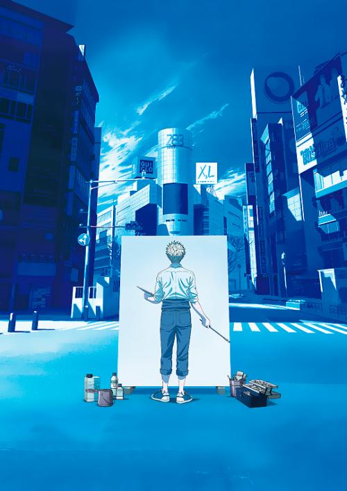 """Show us the world the way you see it."" #blue period#bpedit#allanimanga#animangaboys#fymanganime#anisource#animeedit#seinenedit#dailyanime#graphics-net#blueperiodedit#anime#yaguchi yatora#seinen#color"