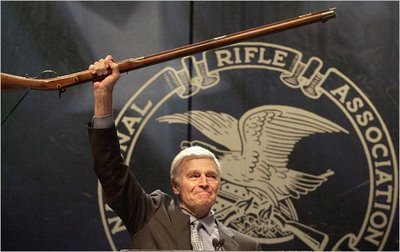 mattkingnavarro:  Charlton Heston for National Rifle Association