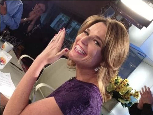 Congratulations to Savannah Guthrie of The Today Show!!! Savannah and long-time boyfriend Michael Feldman were engaged over the weekend!!