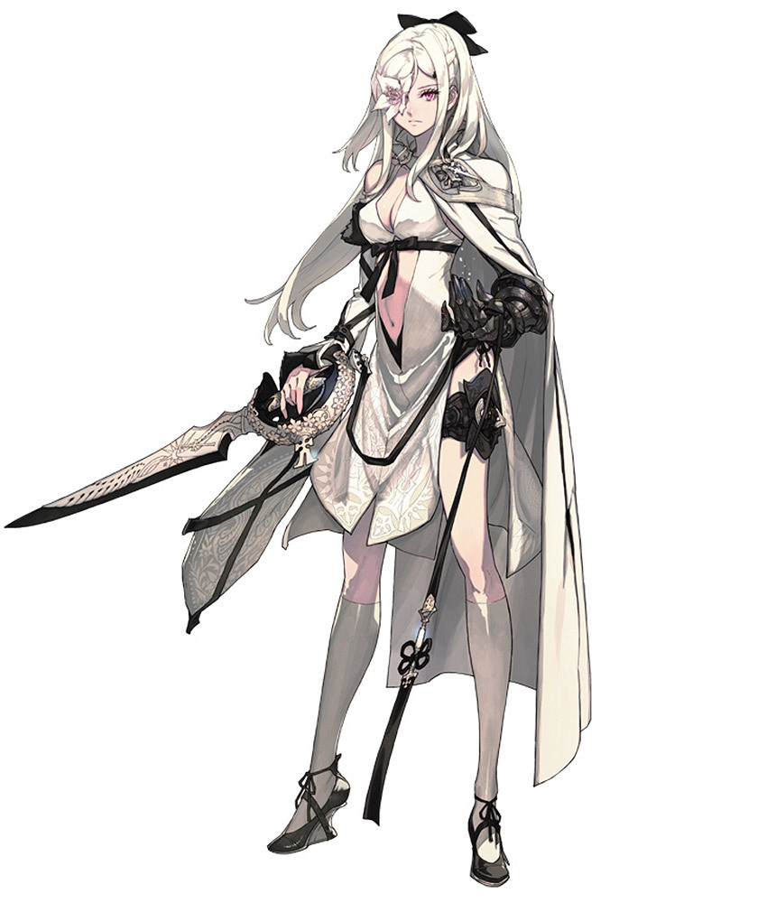 gameraddictions:  Character artwork  Drakengard 3