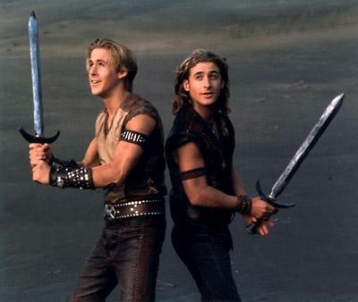 anotherneworld:  ~ NEVER FORGET ~ Ryan Gosling & Dean O'Gorman in Disney's Young Hercules.
