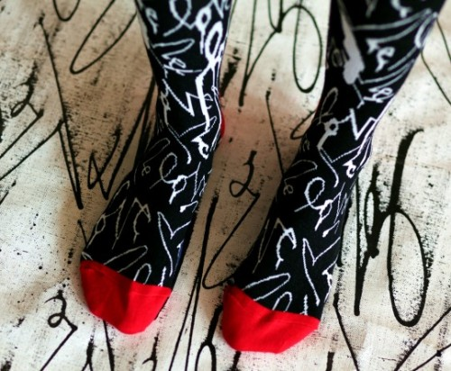 Happy Socks x Curtis Kulig 'Love Me' Socks