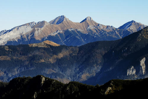 forbiddenforrest:  Tatra Mountains - View from Świstówka to Belianske Tatras by Karol Majewski on Flickr.