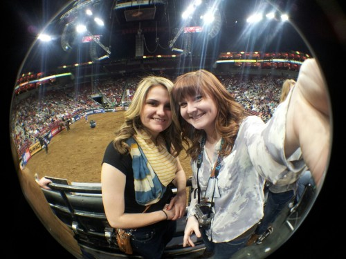 At the pbr last night!