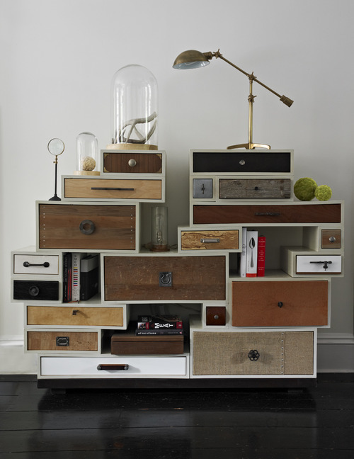 image. Townsend Duval added vintage furniture ... - Design Brooklyn