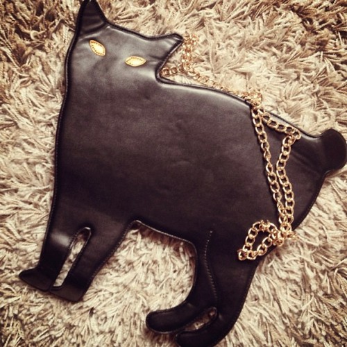 romwe:  Cat bag from Romwe. Click to buy~