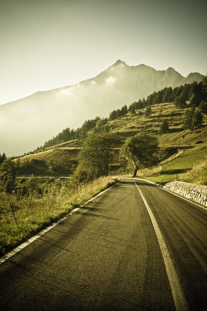 mystic-revelations:  Mountain Road By ZoSo74