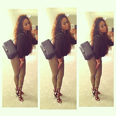 golddiggerr:  bad-af:  Heading to dinner 💋 - @alleyesonjordyc- #webstagram http://bad-af.tumblr.com/   http://instagram.com/Msivana_