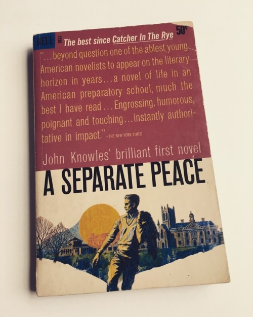 the idealist and realist in a separate peace by john knowles The phrase separate peace is a military term which means if one nation has an alliance with another nation, it can refuse to fight that other nation's enemy by forming a separate peace identities blur.