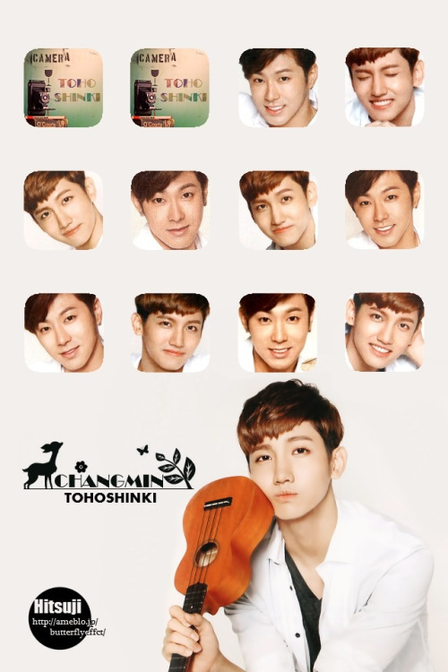 【Wallpaper】Changmin/2013dairy ver. for iPhone4