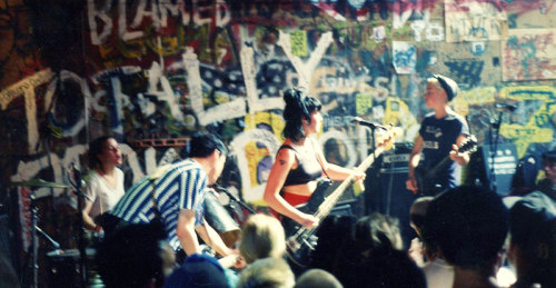 Bikini Kill is making things again The riot grrrl revolution in the age of Spotify and iTunes