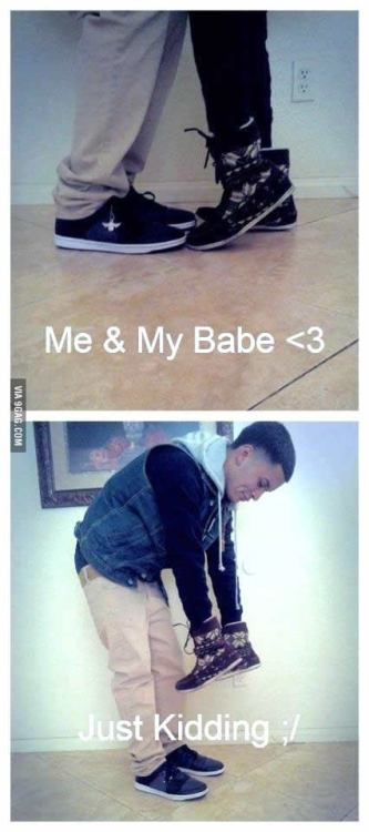 9gag:  Me and babe.