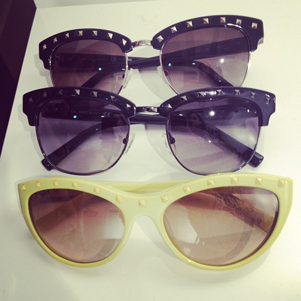 officialstyledotcom:  New @maisonvalentino sunglasses. ML