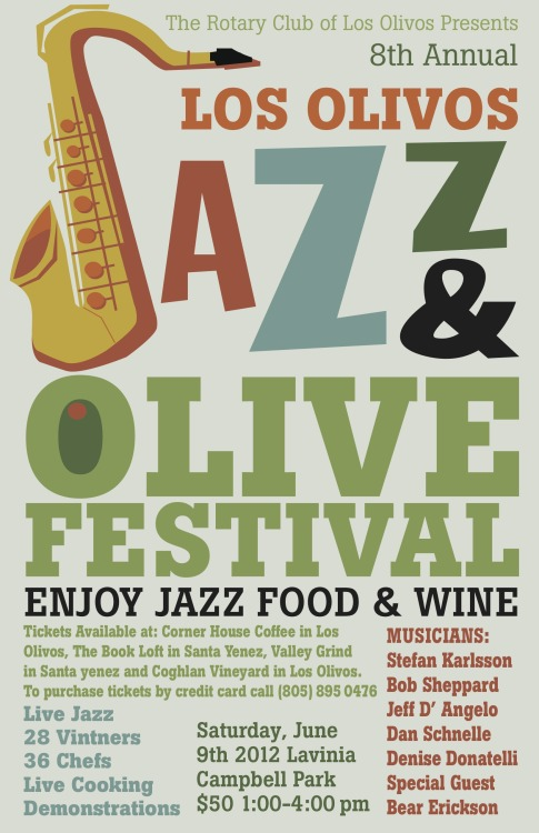 Jazz and Olive Poster   I designed this poster last year as a freelance Project for my good friend and mentor,…View Post