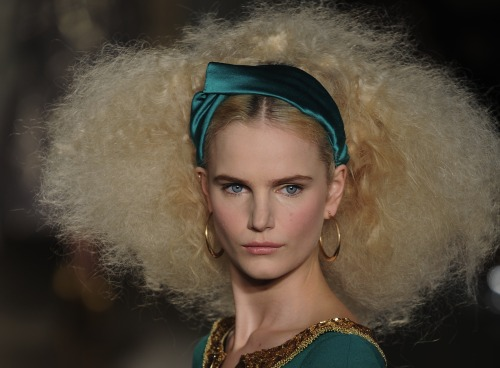 Truly fabulous hair at the @LWrenScott show yesterday! #lfw