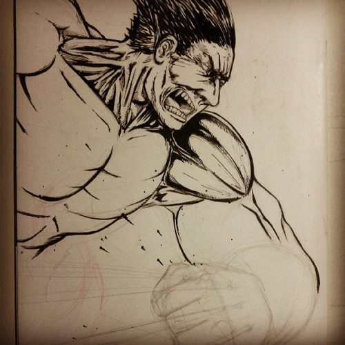 Progress #maddsketch #wolverine #marvel
