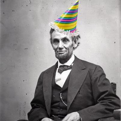 Happy Bday, Abe!