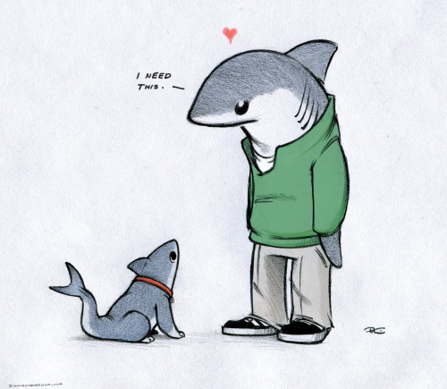 chippish asked you:     Has Lanny ever met shark puppy? (fireandshellamari)   He needs one. Other puppy and the cat will just have to deal.