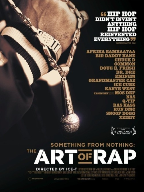 Awesome Documentary, seriously worth the watch even if you aren't into rap :)