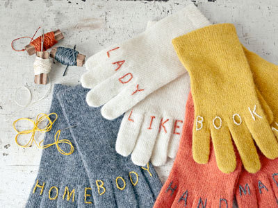 Knuckle Tattoo Gloves!  via Country Living