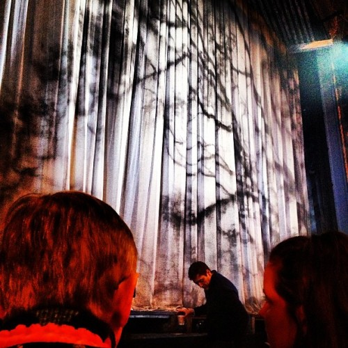 "curtain for ""cat on a hot tin roof"" with @mrdavidgordon  (at Richard Rodgers Theatre)"
