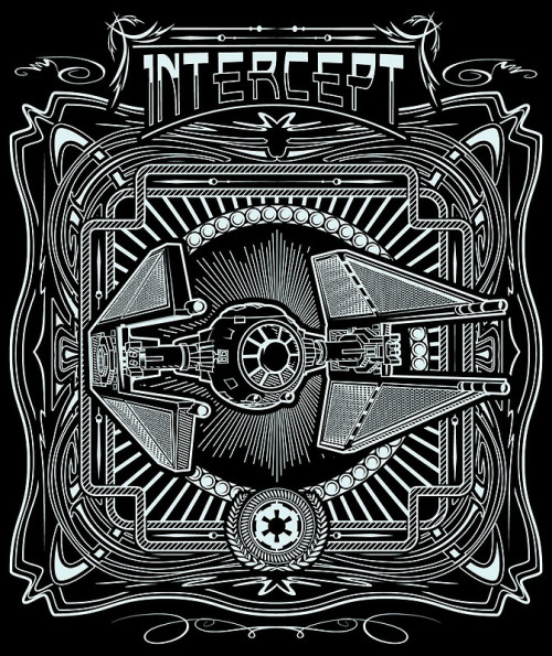 INTERCEPT is now up for voting on Qwertee!  You can follow Buzatron here: twitter | facebook | tumblr | redbubble