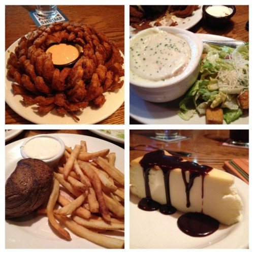 #picstitch #outbacksteakhouse #dinnerdate #teamobesity @jk_kenney