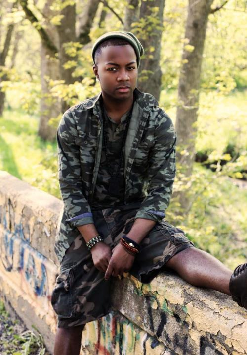 blackfashion:  Khiry, 23, St. Louis, Missouri, Army Fatigue  On blackfashion.tumblr.com once again