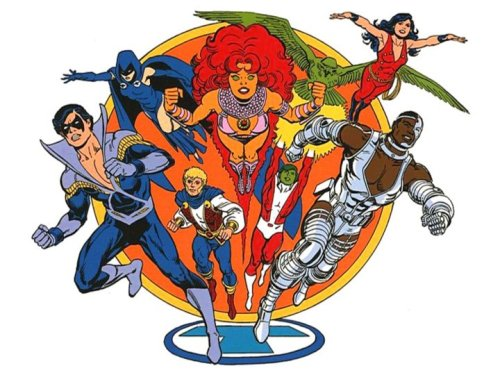 browsethestacks:  New Teen Titans by José Luis García-López