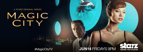 Magic City returns to STARZ for the much anticipated second season on June 14th at 9pm. SHARE to spread the word.  Jeffrey Dean Morgan, Olga Kurylenko, and Danny Huston return and welcome legendary guest star, James Caan.