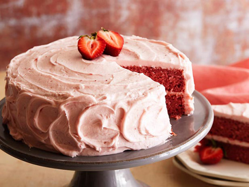 foodnetwork:  Recipe of the Day: Simply Delicious Strawberry Cake