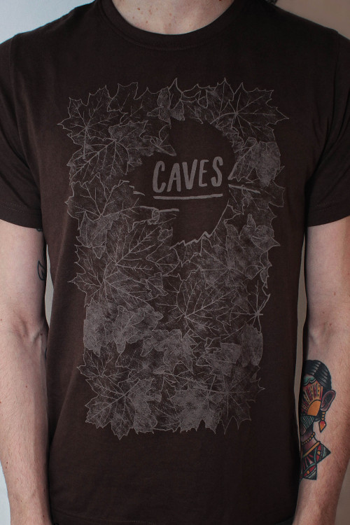 We got us an unbeleafable new shirt design thanks to Carly Davies! It's available on sweatshirts too… http://wearecaves.bigcartel.com/