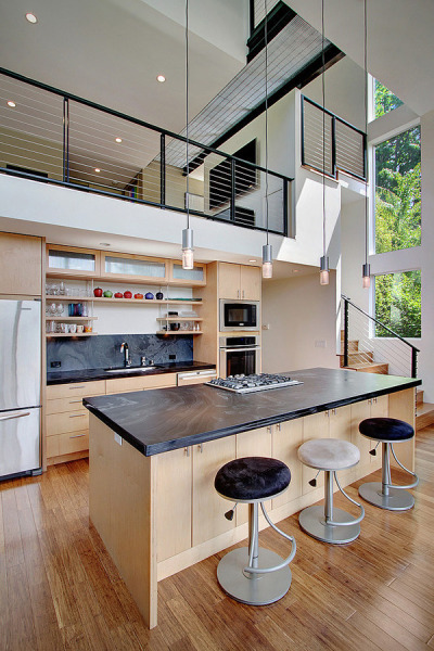 Modern Hillside Home in Seattle: Crane Residence