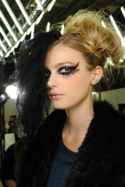 Sigrid Agren at Chanel Haute Couture Spring 2013