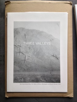 """Three Valleys"", by Alec Soth and Brad Zellar"