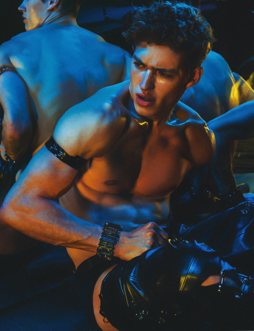 Valentin Humbroich for Man About TownPhotographed by Christian Oita #Christian Oita