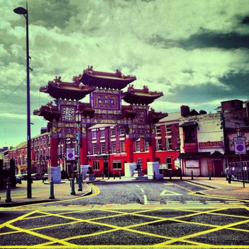 #chinatown #yellow  (presso Chinatown Liverpool | 利物浦 唐人街)
