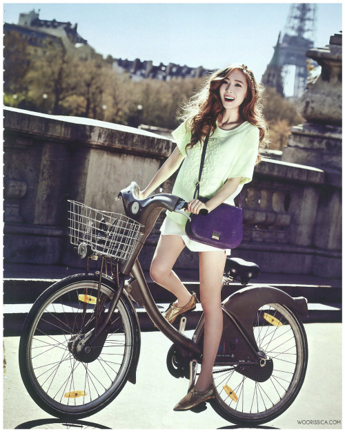 kmagazinelovers:  SNSD Jessica - Vogue Girl Magazine June Issue '13