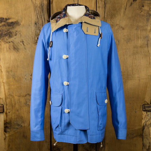 streetstylemarket:  Comme des garcons homme Mens Field Jacket - Blue | Anthem