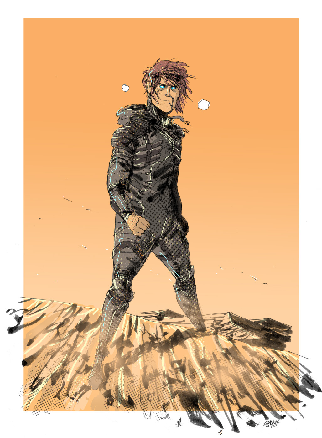 bubblessoc:  Muad'Dib by ~juntaro