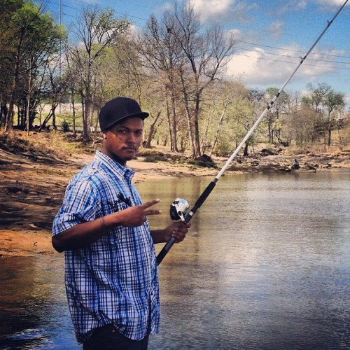I'm #me on my country boy #swag gone #fishing #pro