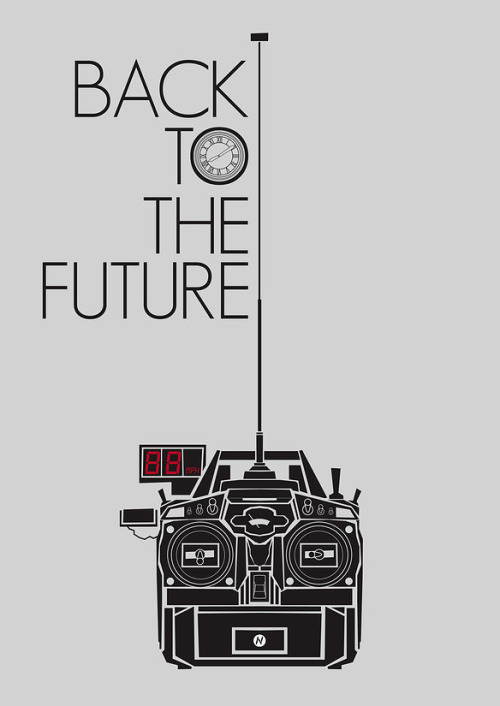 geek-art:  Geek-Art.net : Mainger - Back to the Future