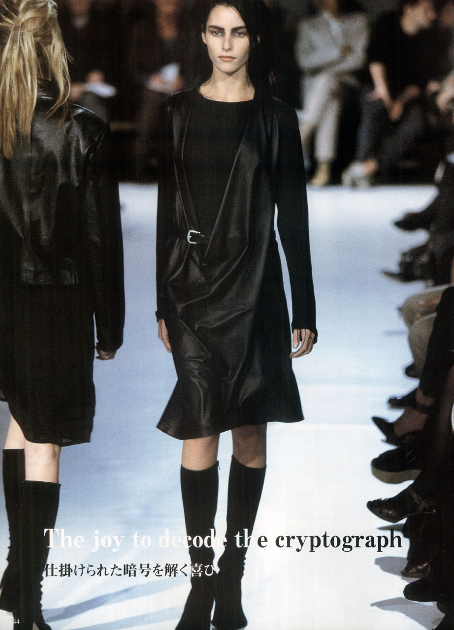 Winter 1997, Ann DemeulemeesterGap Press Prêt-à-Porter Collections Volume 11