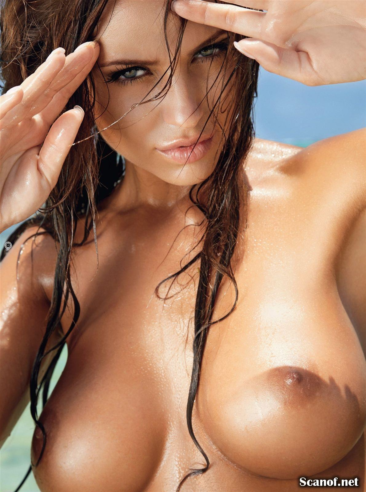 lesbiansilk:  Monika Pietrasinska @ Playboy, USA source