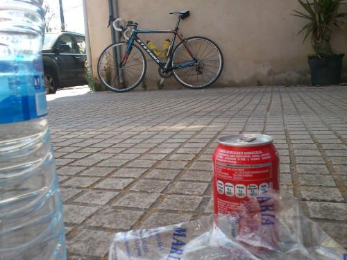 Water +  coke in Petra/Mallorca (Spain)