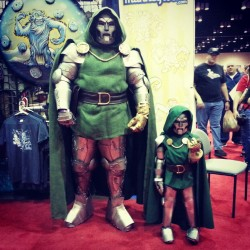 Daddy and Baby Doom @ Megacon 2013.