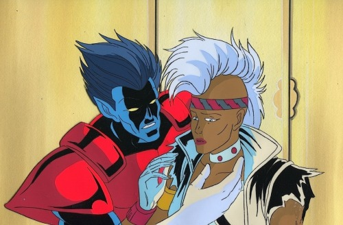 fyeahmohawkstorm:  professorxisajerk:  From X-Men: TAS  STYLIN'!!!