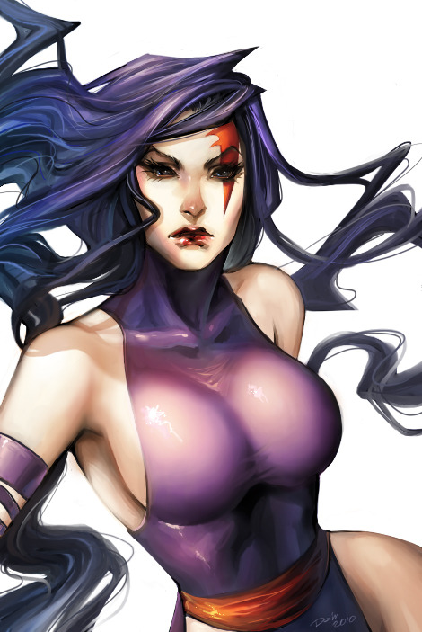 Miss psylocke by Kate Niemczyk Artist blog