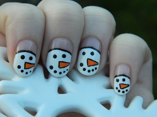 Day 8 of 12 Christmas designs  I couldn't wait to show you these cute snowmen. I love them, they look so happy! :D